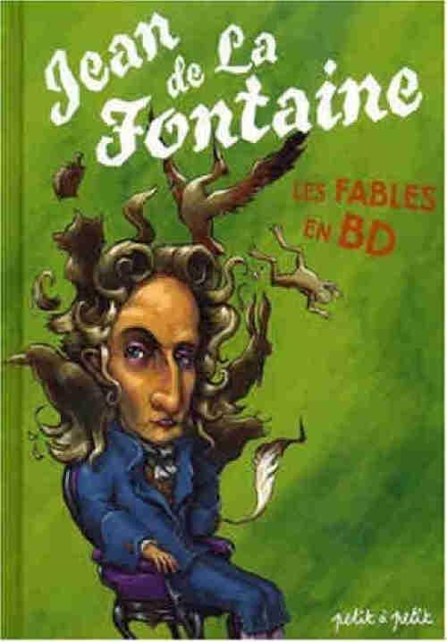 Couverture de Poèmes en bandes dessinées - Jean de La Fontaine - Les Fables en BD
