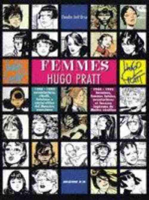 Couverture de (AUT) Pratt, Hugo - Femmes : Hugo Pratt 1944-1995