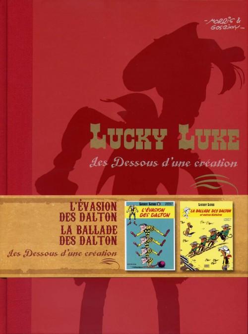 Couverture de Lucky Luke - Les Dessous d'une création (Atlas) -24- L'Évasion des Dalton - La Ballade des Dalton