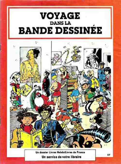 Couverture de (DOC) Études et essais divers - Voyage dans la bande dessinée