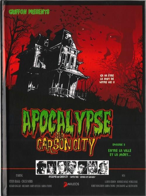 Couverture de Apocalypse sur Carson City -3- Entre la ville et la mort…