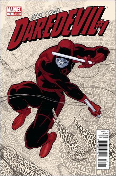 Couverture de Daredevil Vol. 3 (Marvel - 2011) -1- Here comes Daredevil