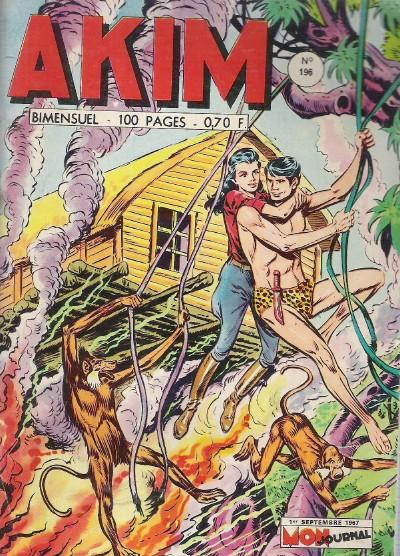 Couverture de Akim (1re série) -196- Le souterrain de la mort