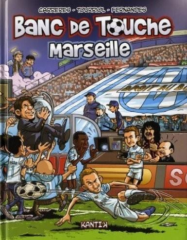 Couverture de Banc de touche -3- Marseille