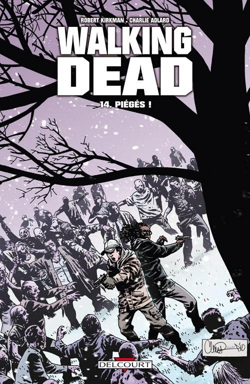 Couverture de Walking Dead -14- Piégés !