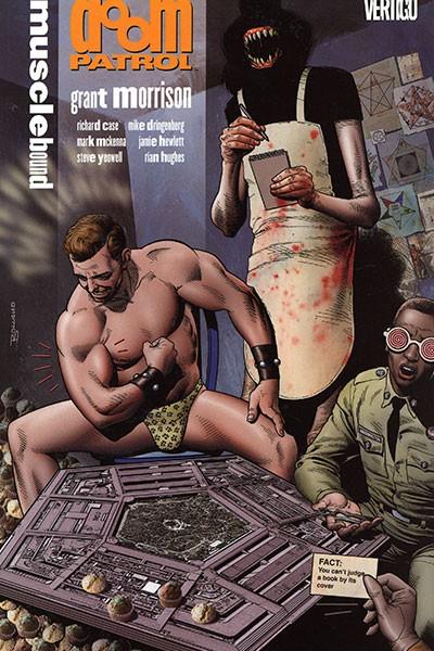 Couverture de Doom Patrol Vol.2 (DC Comics - 1987) -INT4- Musclebound