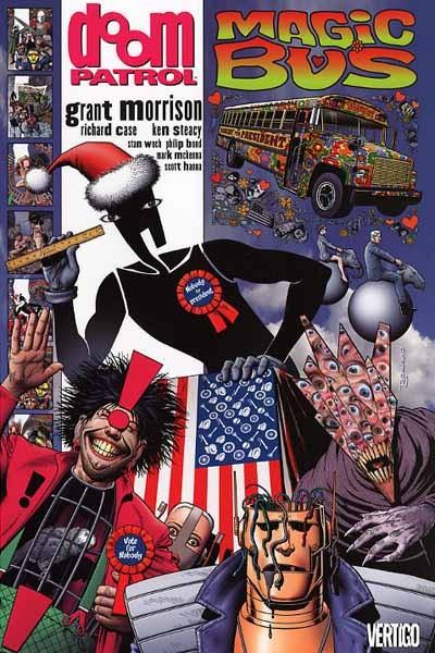 Couverture de Doom Patrol Vol.2 (DC Comics - 1987) -INT5- Magic Bus