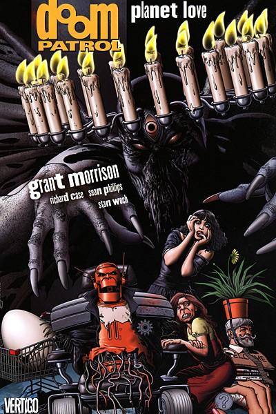 Couverture de Doom Patrol Vol.2 (DC Comics - 1987) -INT6- Planet Love