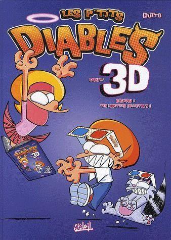 Couverture de Les p'tits diables -3D1- Compil'3D