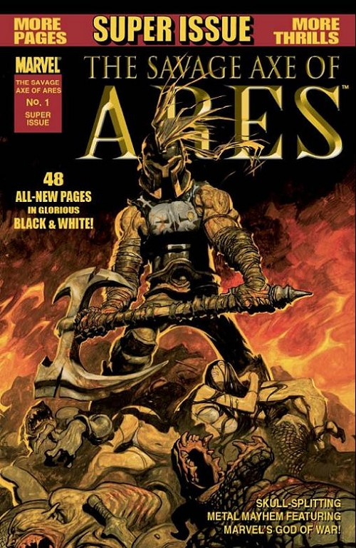 Couverture de Savage axe of Ares (The) -1- The savage axe of Ares