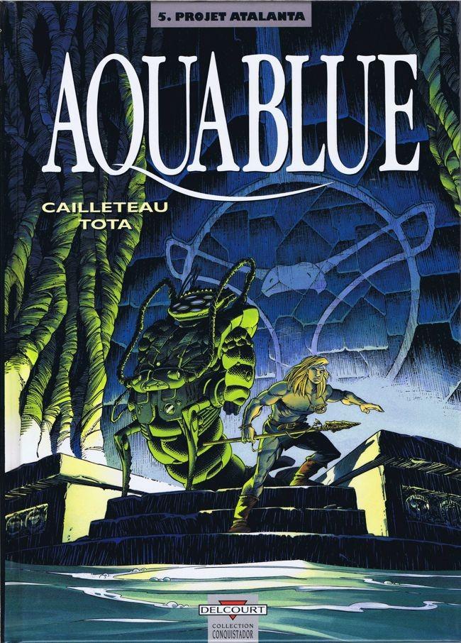 Couverture de Aquablue -5- Projet Atalanta