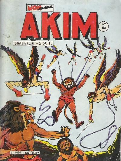 Couverture de Akim (1re série) -592- Échec... au Roi !