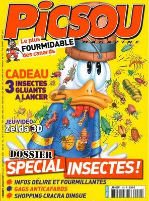 Couverture de Picsou Magazine -472- Picsou magazine n° 472