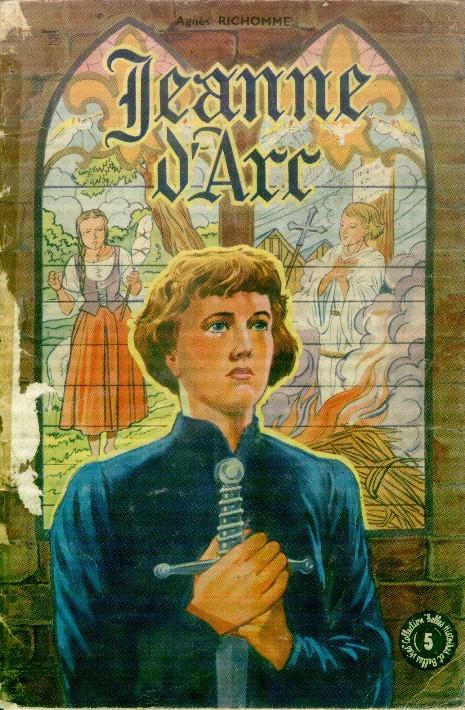 Couverture de Belles histoires et belles vies -5a- Jeanne d'Arc