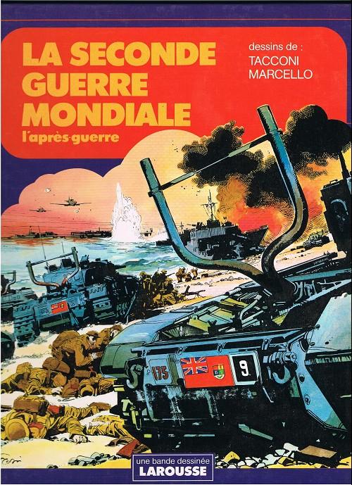 Couverture de Histoire de France en bandes dessinées -23SP- La seconde guerre mondiale - L'après guerre