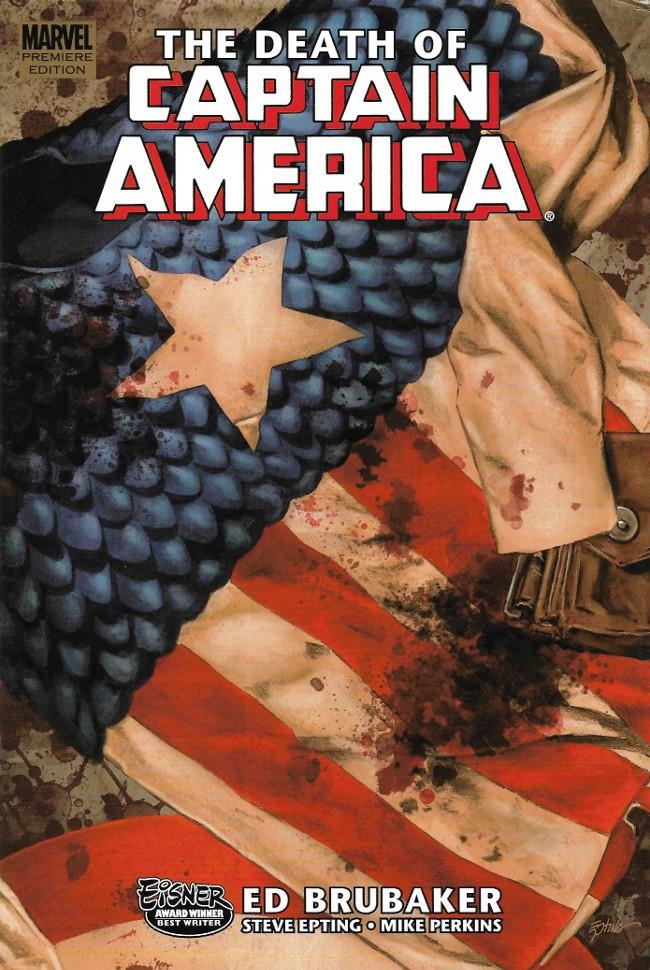 Couverture de Captain America (2005) -INT06- The Death of Captain America 1 : the Death of the Dream
