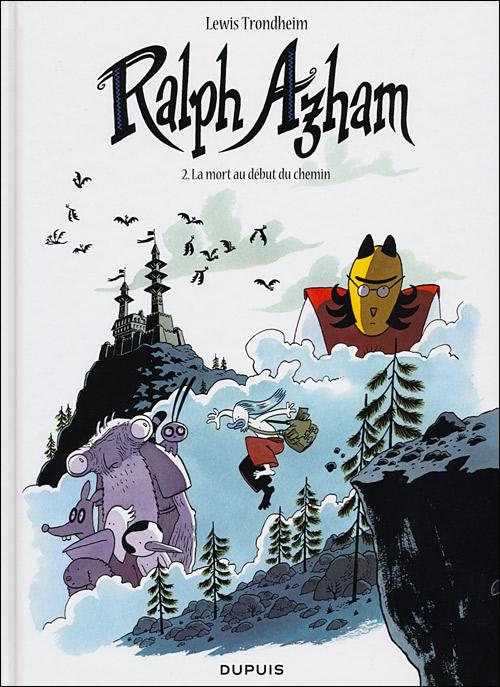 Couverture de Ralph Azham -2- La mort au début du chemin