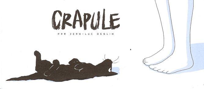 Couverture de Crapule (Deglin) -MR3826- Mini-récit n°3