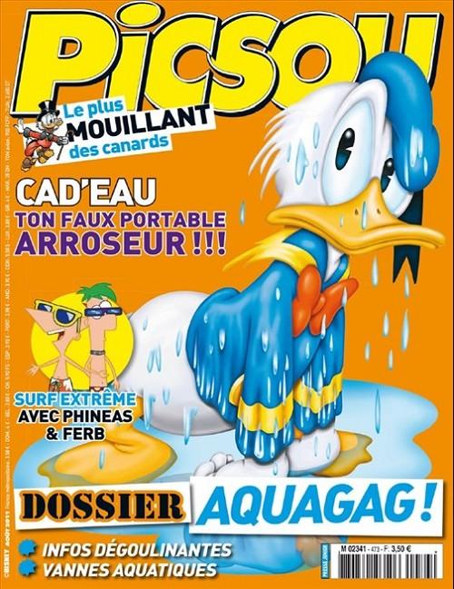Couverture de Picsou Magazine -473- Picsou magazine n°473