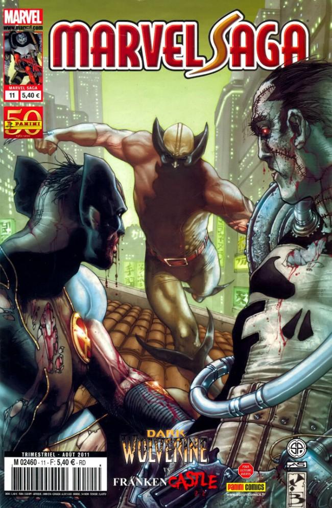 Couverture de Marvel Saga (1re série - 2009) -11- L'Île aux Monstres