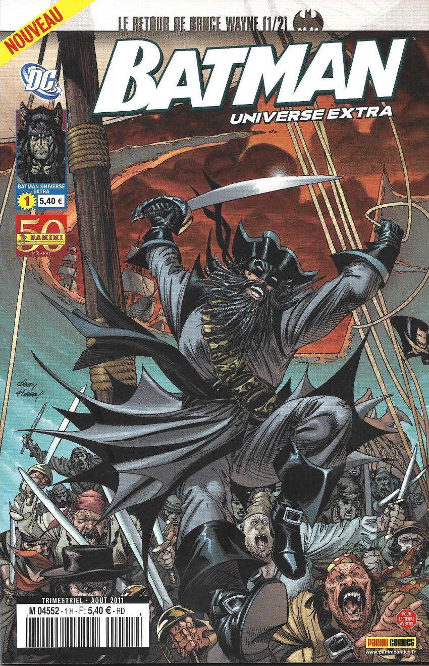 Couverture de Batman Universe Extra -1- Le retour de Bruce Wayne (1/2)