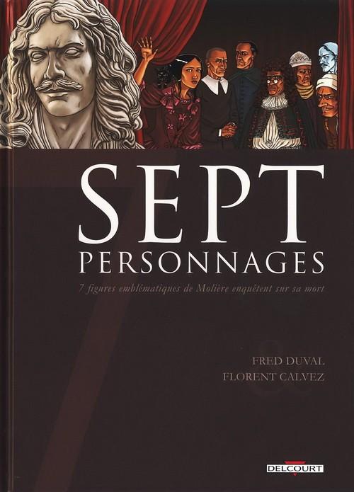 Couverture de Sept -9- Sept personnages