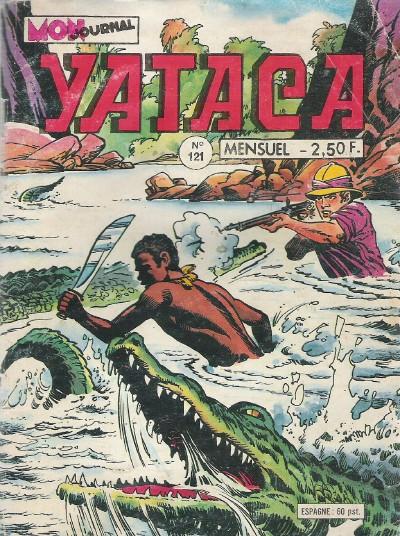 Couverture de Yataca (Fils-du-Soleil) -121- Le maître des éléphants
