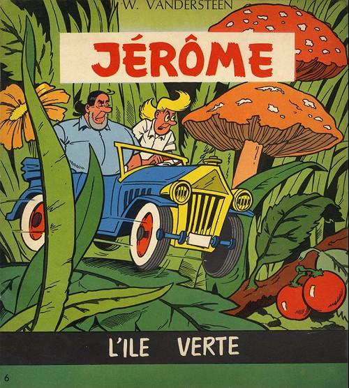Couverture de Jérôme -6- L'île verte