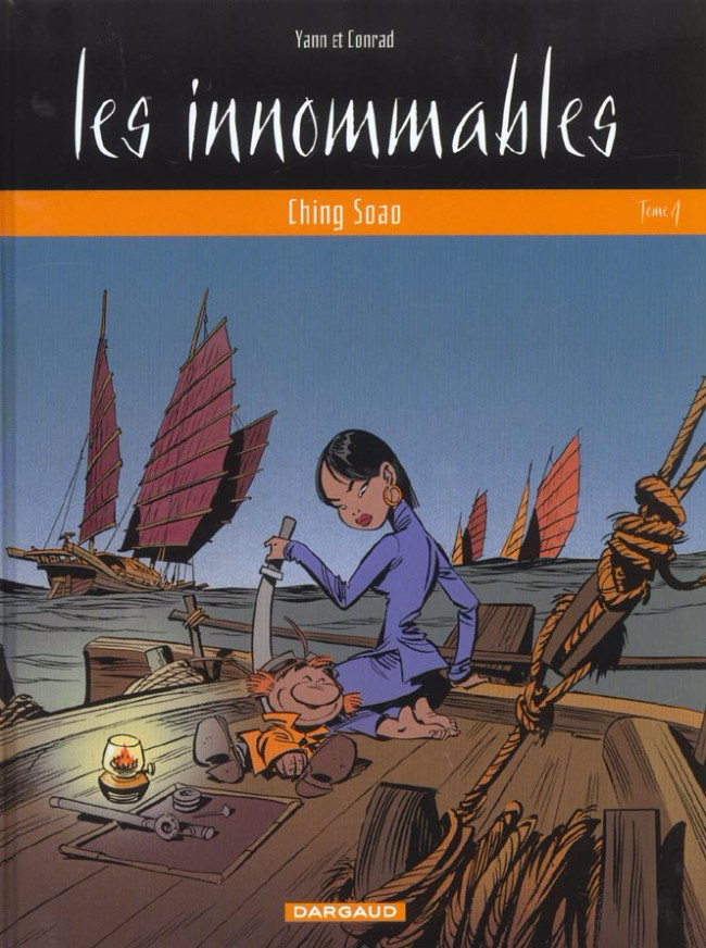 Couverture de Les innommables (Série actuelle) -4- Ching Soao