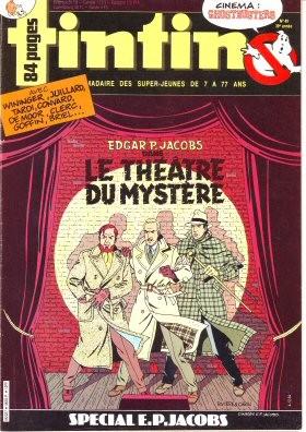 Couverture de (AUT) Jacobs, Edgar P. -2- Le Théâtre du mystère