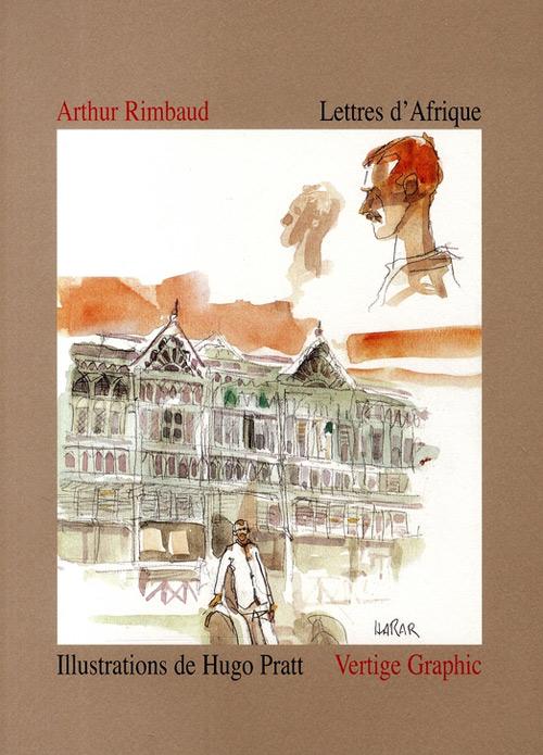 Couverture de (AUT) Pratt, Hugo - Lettres d'Afrique