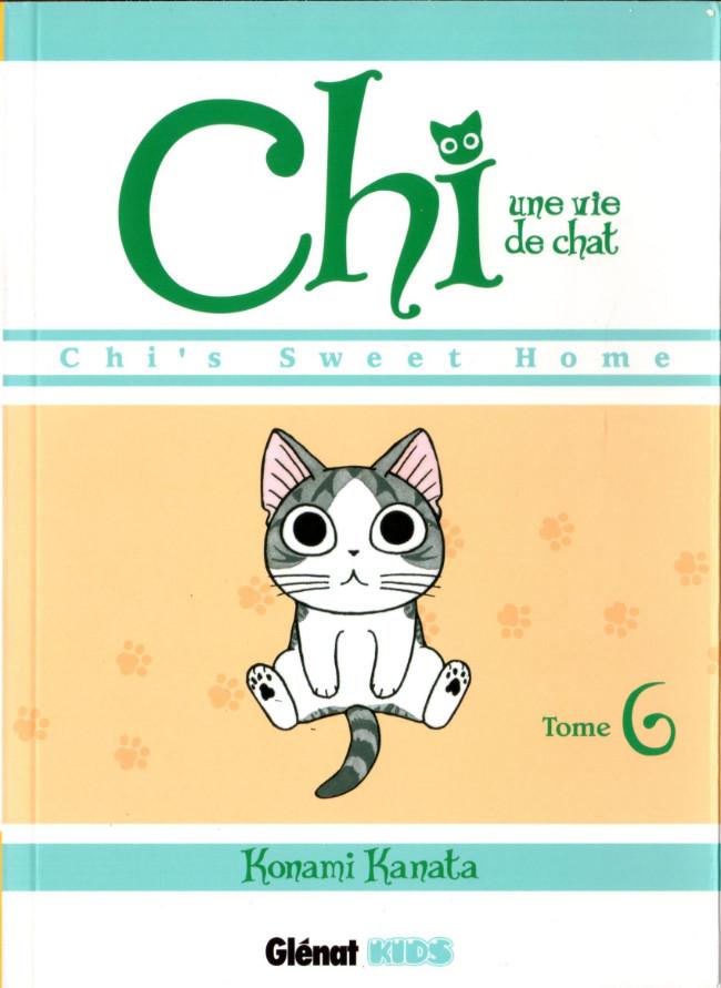 Couverture de Chi - Une vie de chat (format manga) -6- Tome 6