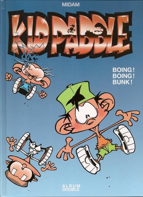 Couverture de Kid Paddle -INTFL5- Boing ! Boing ! Bunk ! / Dark j'adore !