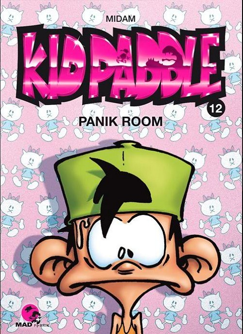 Couverture de Kid Paddle -12- Panik Room