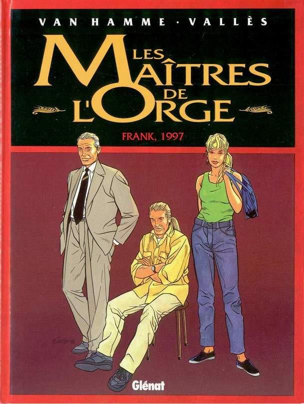 Couverture de Les maîtres de l'Orge -7- Frank, 1997