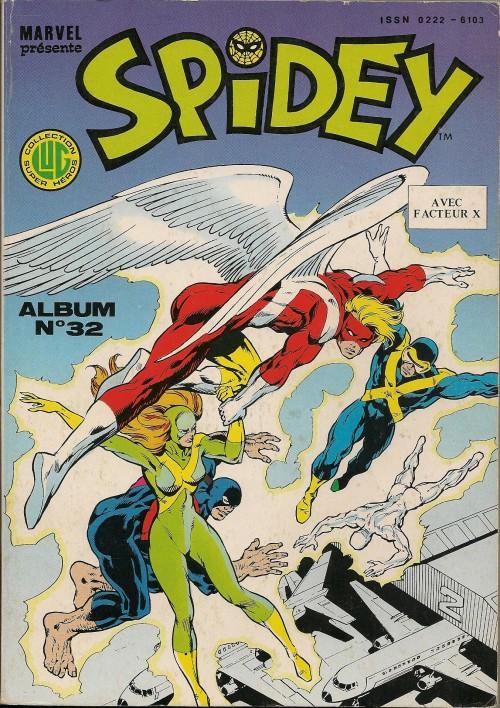 Couverture de Spidey -Rec32- Album N°32 (du n°94 au n°96)