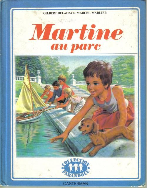 Couverture de Martine -17a- Martine au parc