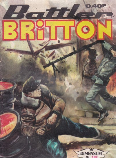 Couverture de Battler Britton -108- Panique sur le Channel
