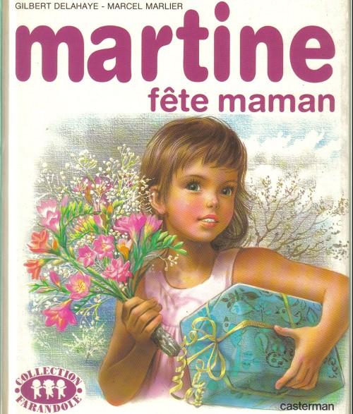Couverture de Martine -32- Martine fête maman