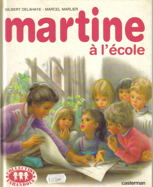 Couverture de Martine -34'- Martine à l'école