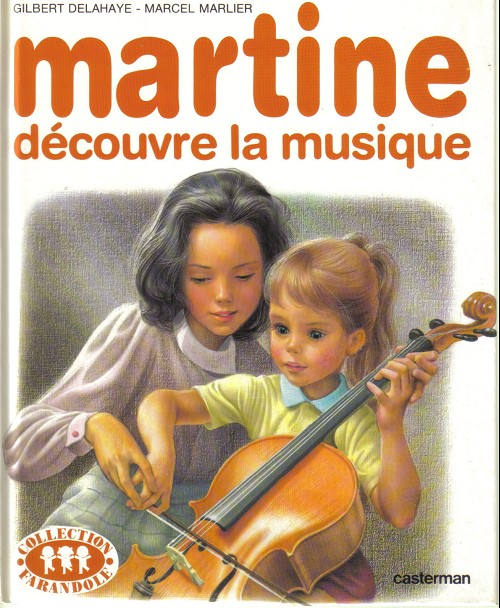 Couverture de Martine -35- Martine découvre la musique