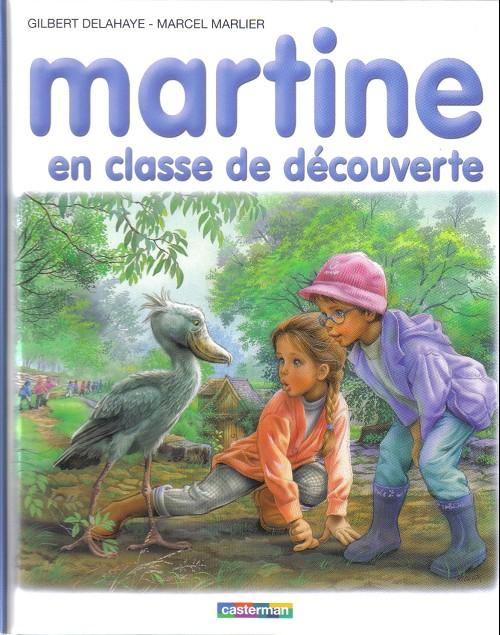 Couverture de Martine -48- Martine en classe de découverte
