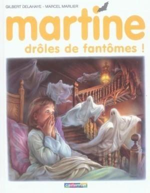 Couverture de Martine -55- Martine, drôles de fantômes!