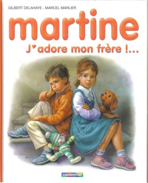 Couverture de Martine -57a- Martine, j'adore mon frère !...