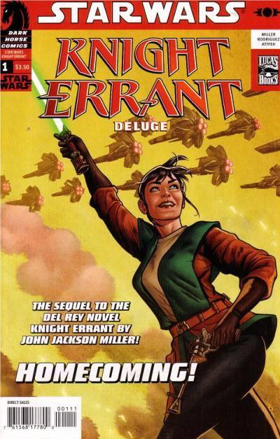 Couverture de Star Wars: Knight Errant (2010) -1- Deluge 1