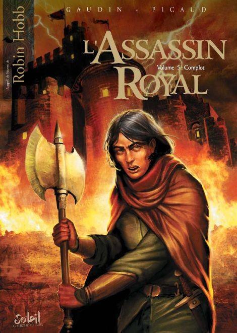 Couverture de L'assassin Royal -5- Complot