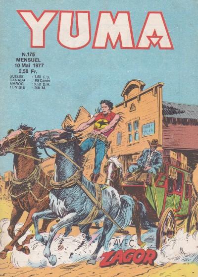 Couverture de Yuma (1re série) -175- La révolte des Osages
