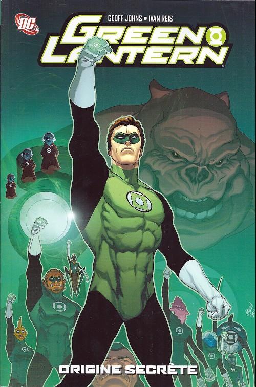 Couverture de Green Lantern (Best Comics) -1- Origine secrète