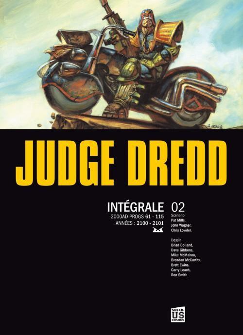 Couverture de Judge Dredd (Soleil) -INT2- Intégrale 02