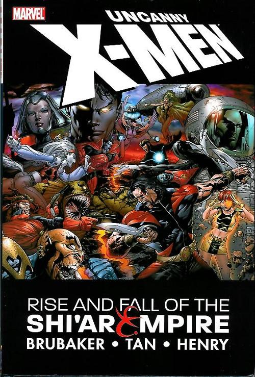 Couverture de Uncanny X-Men (The) (Marvel comics - 1963) -INT- Rise and Fall of the Shi'ar Empire